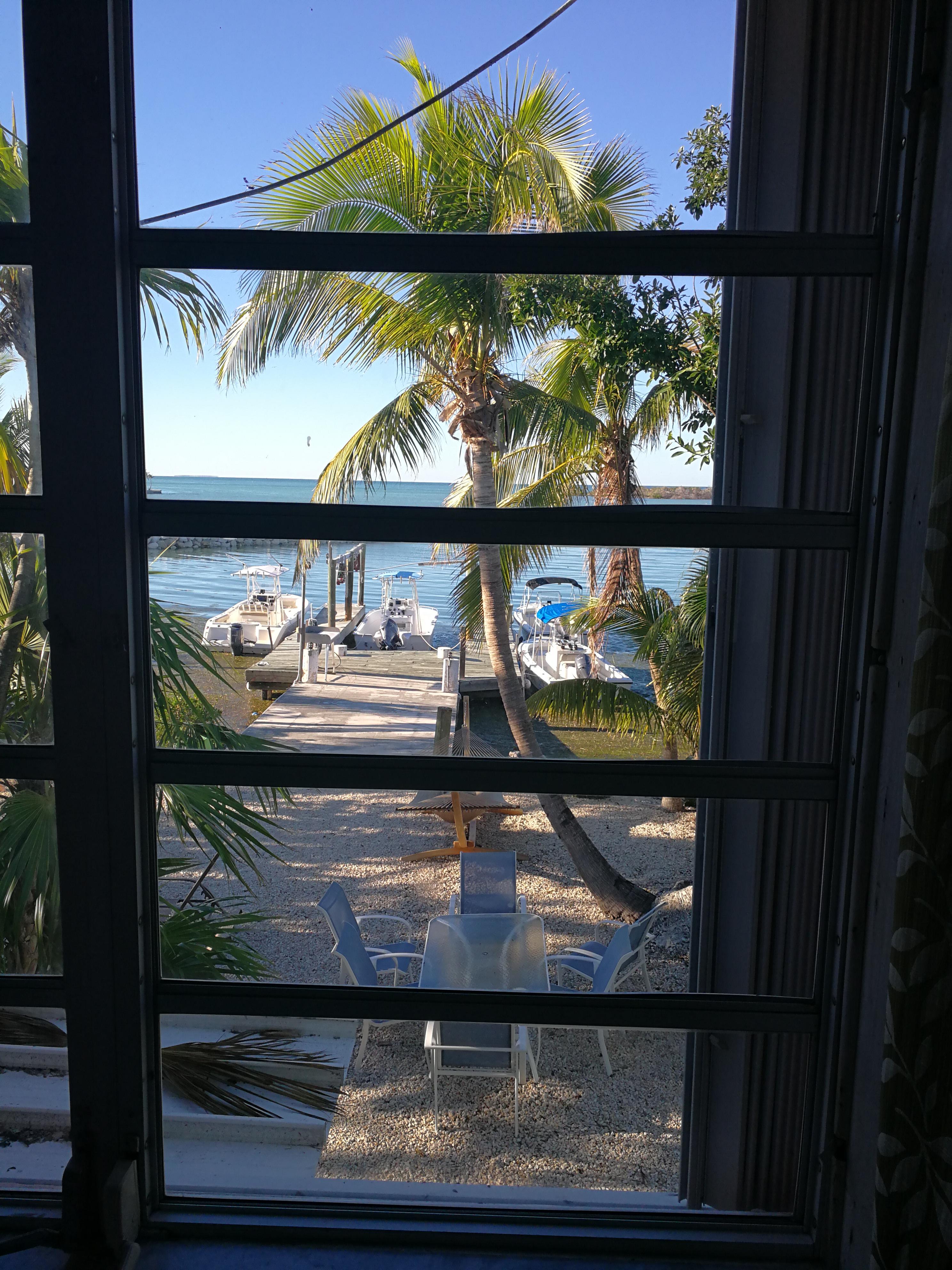 2017/12/31 - USA | Florida Keys| Marathon | Captain Pip's Marina & Hideaway - [Neujahrs-]Aussicht.