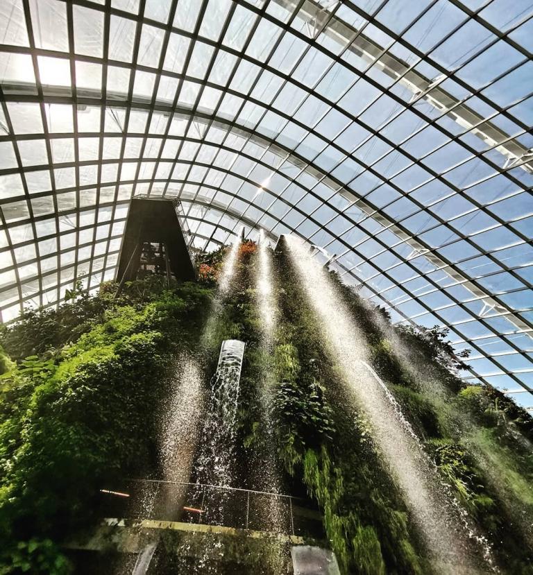 [Reisetagebuch Australien] Heute aus: Cloud Forest At Gardens By the Bay