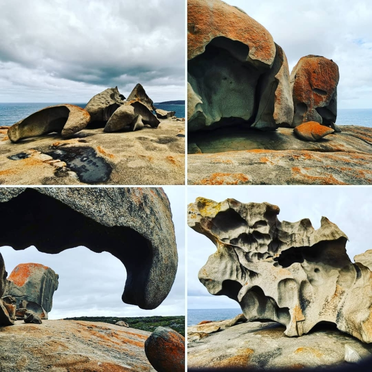 [Reisetagebuch Australien] Heute aus: Remarkable Rocks, Flinders Chase National
