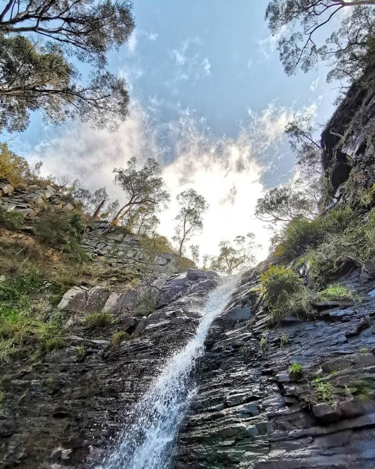 [Reisetagebuch Australien] Heute aus: Silverband Falls