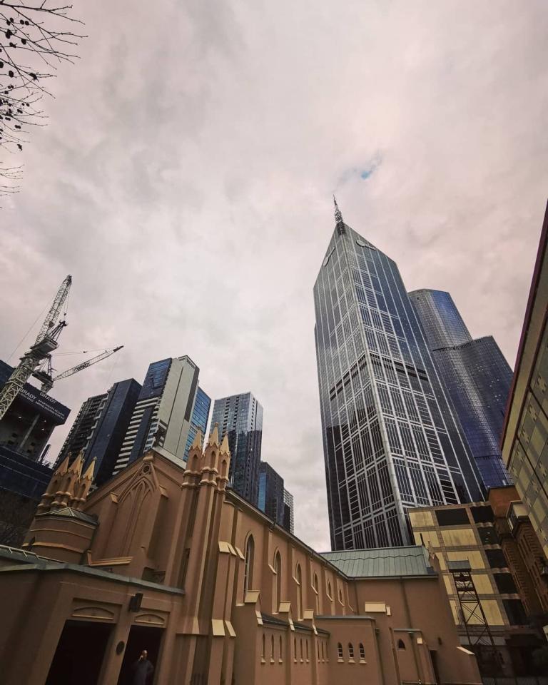 [Reisetagebuch Australien] Heute aus: St Francis Church, Melbourne