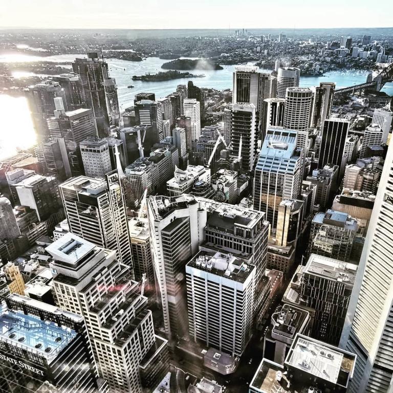 [Reisetagebuch Australien] Heute aus: Sydney Tower Eye