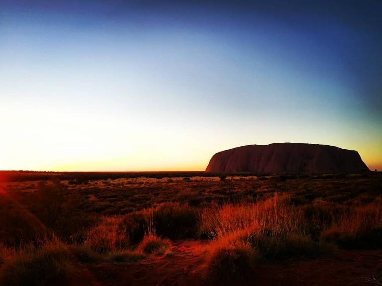 [Reisetagebuch Australien] Heute aus: Uluru / Ayers Rock