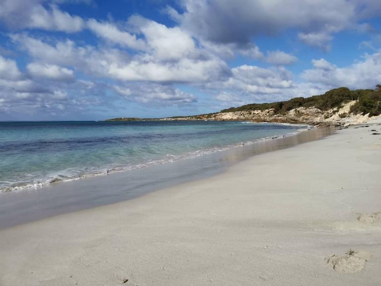 [Reisetagebuch Australien] Heute aus: Vivonne Bay Beach