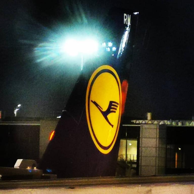 [An/auf/in der Luft]: Frankfurt Airport