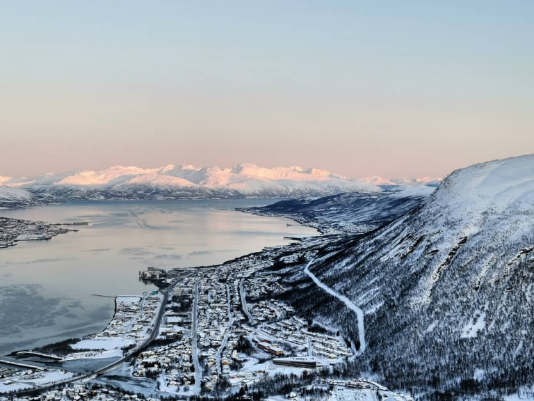 [Zur Zeit in]: Tromsø, Norway