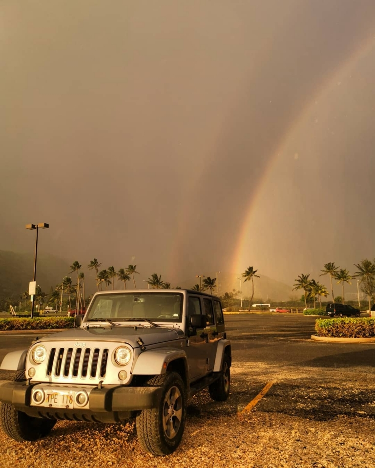 [Reisetagebuch Hawaii] Heute aus: Maunalua Bay Park Parking Lot
