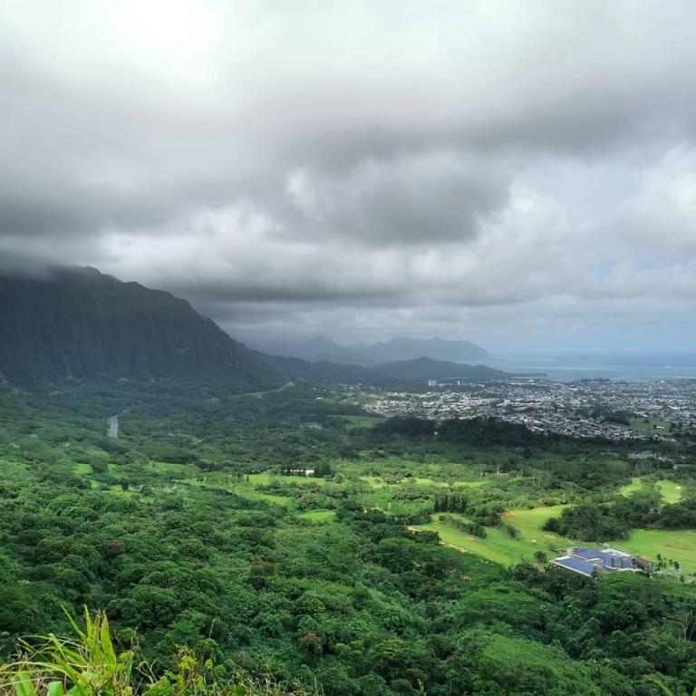 [Reisetagebuch Hawaii] Heute aus: Pali Lookout, Oahu HI